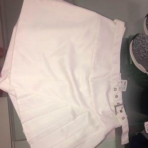 white forever 21 skirt size S